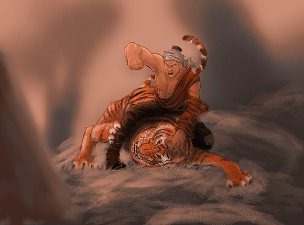 Vang danh sử sách: Bố Cái Đại Vương đả hổ ở Đường Lâm - 1
