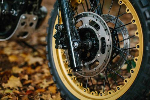 Ngắm Kawasaki W650 Scrambler độ hình xăm cực chất - 7