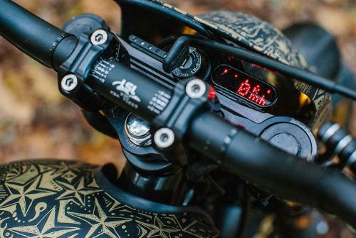 Ngắm Kawasaki W650 Scrambler độ hình xăm cực chất - 5