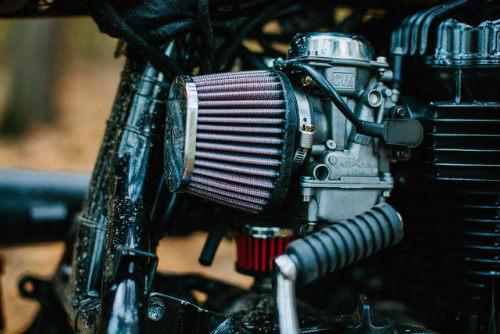 Ngắm Kawasaki W650 Scrambler độ hình xăm cực chất - 6