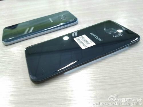Lộ ảnh Samsung Galaxy S7 Edge màu đen bóng Glossy Black - 2