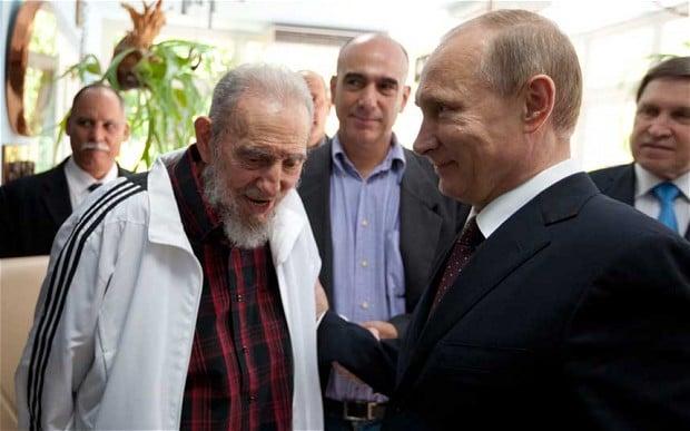 Putin: Ký ức về Fidel Castro sống mãi trong tim người Nga - 1