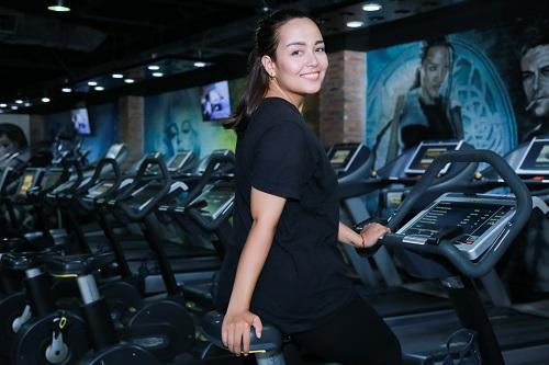 Lộ loạt ảnh tập gym của Quán quân bước nhảy ngàn cân 2016 - 6