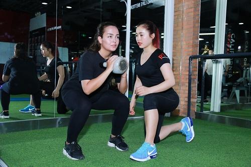 Lộ loạt ảnh tập gym của Quán quân bước nhảy ngàn cân 2016 - 8