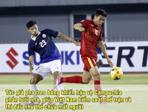 """Chấm điểm ĐT Việt Nam: Công Vinh ghi bàn, Trọng Hoàng """"sáng"""" nhất - 7"""