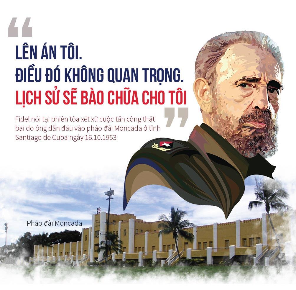 [Đồ họa] 9 câu nói để đời của huyền thoại Fidel Castro - 2