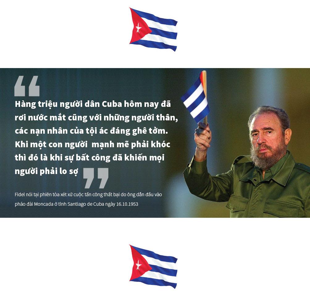 [Đồ họa] 9 câu nói để đời của huyền thoại Fidel Castro - 6
