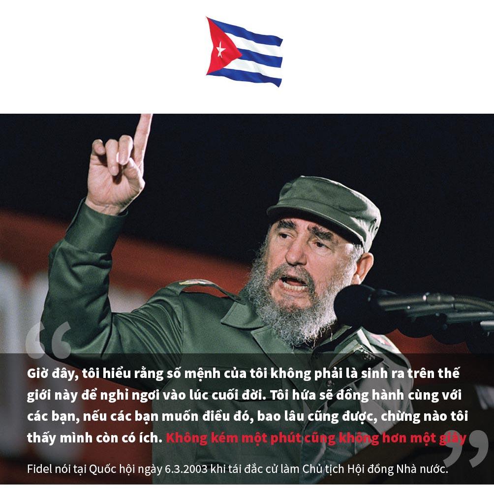 [Đồ họa] 9 câu nói để đời của huyền thoại Fidel Castro - 9