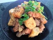 Ẩm thực - Thịt kho đậu hũ, ăn hoài không chán