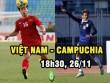 """Việt Nam – Campuchia: Chờ Công Phượng """"ghi điểm"""" (AFF Cup 2016)"""