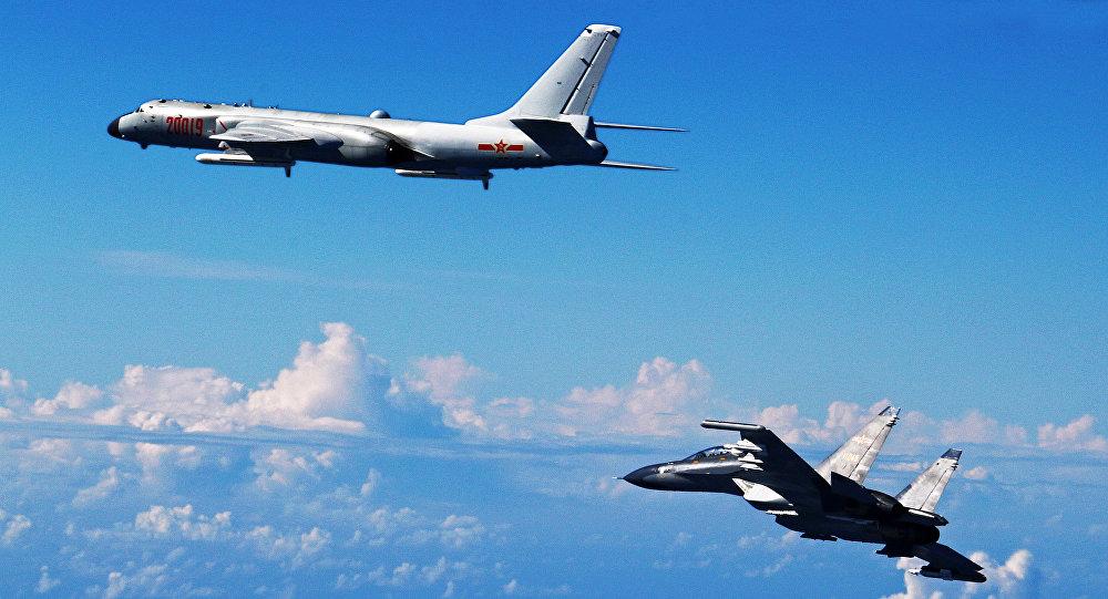 Nhật điều chiến đấu cơ chặn máy bay ném bom Trung Quốc - 1