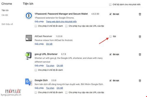5 mẹo đơn giản giúp tăng tốc Google Chrome - 3