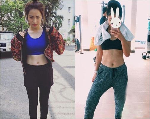 Hòa Minzy - Hoàng Yến Chibi: Ai tập gym gợi cảm hơn? - 11