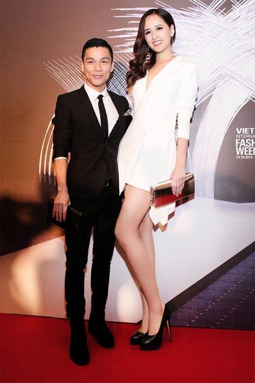 Mai Phương Thúy mê mặc váy cực ngắn khoe chân siêu dài - 5