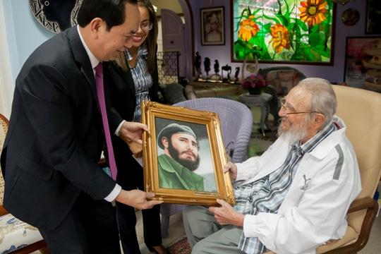 Chủ tịch Quốc hội dự lễ tang lãnh tụ Fidel Castro - 1