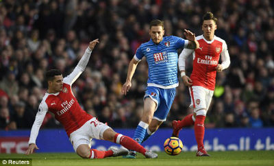 "Chi tiết Arsenal - Bournemouth: Sanchez ""chốt hạ"" (KT) - 4"