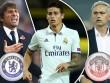 Chelsea-Conte tranh James Rodriguez với MU-Mourinho