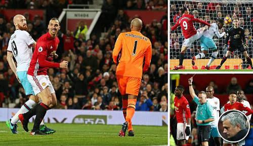 """MU - Mourinho: Top 4 xa dần & serie kỉ lục tệ """"vô đối"""" - 1"""