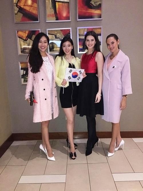 Hoa khôi Diệu Ngọc được khen khi thi tài năng Miss World - 3