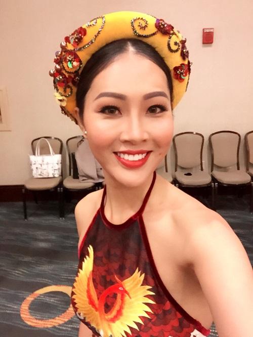 Hoa khôi Diệu Ngọc được khen khi thi tài năng Miss World - 4