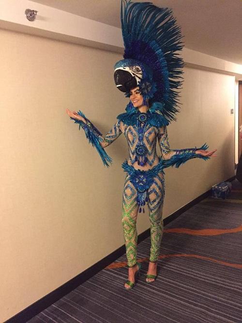 Hoa khôi Diệu Ngọc được khen khi thi tài năng Miss World - 8