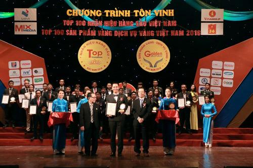 """Spa của MC Phan Anh lọt top """"100 dịch vụ Vàng Việt Nam 2016"""" - 2"""