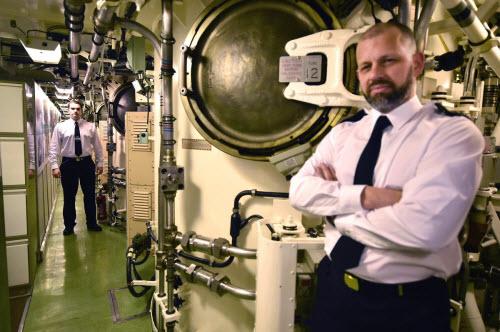 Cuộc sống tiện nghi của lính trên tàu ngầm hạt nhân Anh - 5
