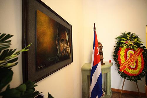 HN: Đoàn người lặng lẽ xếp hàng viếng Chủ tịch Fidel Castro - 9