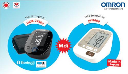 Omron ra mắt máy đo huyết áp bắp tay JPN600 và HEM-7280T - 2