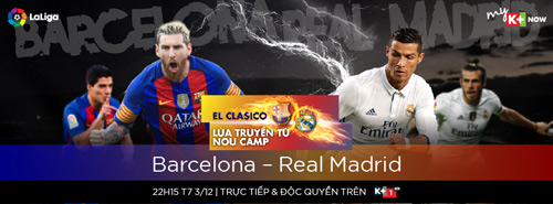 Nóng lòng chờ Siêu kinh điển Barcelona – Real Madrid - 1