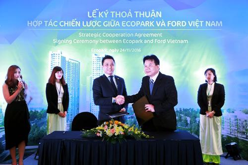 Ecopark kí thỏa thuận hợp tác chiến lược toàn diện cùng Ford Việt Nam - 1