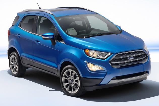 Ford EcoSport bản nâng cấp dành cho thị trường Mỹ - 1