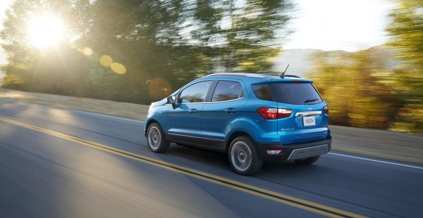 Ford EcoSport bản nâng cấp dành cho thị trường Mỹ - 3