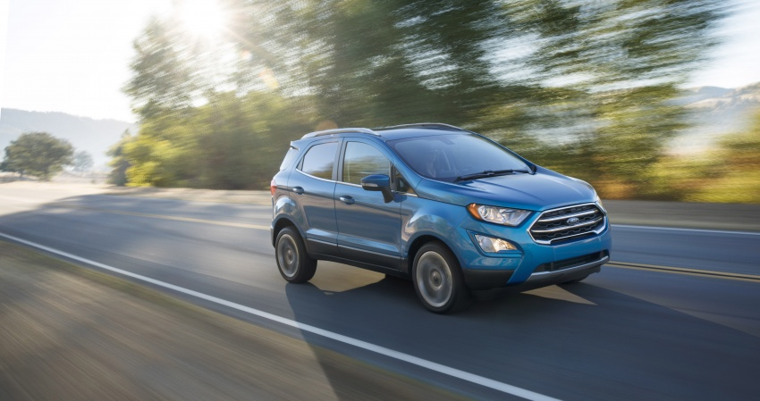 Ford EcoSport bản nâng cấp dành cho thị trường Mỹ - 2