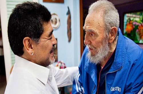 """Maradona: """"Tôi nhớ thương Fidel Castro như người cha thứ hai"""" - 2"""