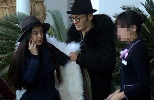 Fan bực vì cách chăm vợ bầu đối lập của Huỳnh Hiểu Minh và Hoắc Kiến Hoa - 3