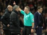 Bóng đá - MU-Mourinho đá chai nước: Bị cấm 6 trận hoặc được xin lỗi