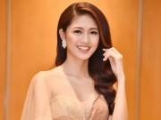 Thời trang - Á hậu Thanh Tú quyến rũ như nữ thần với váy ren gợi cảm
