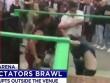 UFC: Võ sĩ đánh trên đài, khán giả đấm nhau ngoài sân