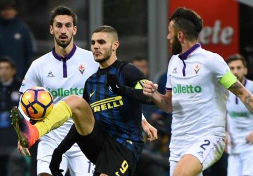 Inter – Fiorentina: Rượt đuổi nghẹt thở 6 bàn - 1