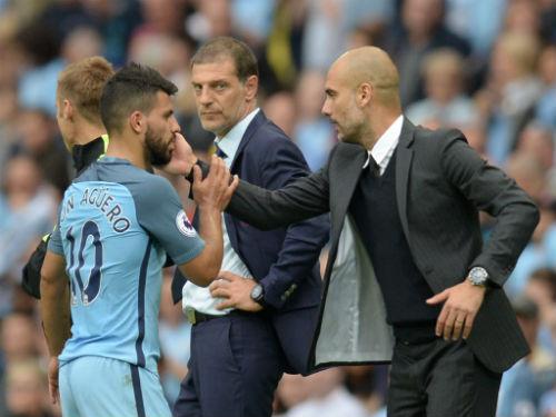 """Man City, Pep """"nắn gân"""" Aguero: Đừng nghĩ mình là số 1 - 1"""