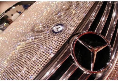 Lóa mắt Mercedes-Benz SL 600 kim cương giá 109 tỷ đồng - 6