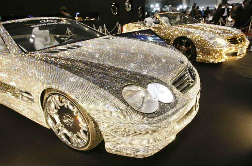 Lóa mắt Mercedes-Benz SL 600 kim cương giá 109 tỷ đồng - 5