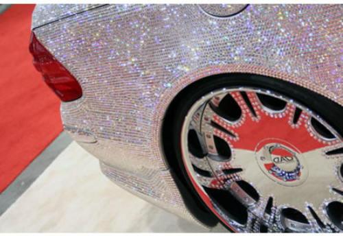 Lóa mắt Mercedes-Benz SL 600 kim cương giá 109 tỷ đồng - 7