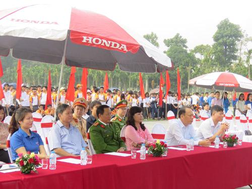 """""""Chiến dịch ATGT cùng Honda Việt Nam"""" tại tỉnh Vĩnh Phúc - 1"""