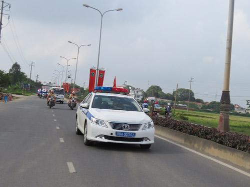 """""""Chiến dịch ATGT cùng Honda Việt Nam"""" tại tỉnh Vĩnh Phúc - 3"""