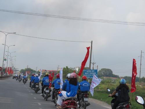 """""""Chiến dịch ATGT cùng Honda Việt Nam"""" tại tỉnh Vĩnh Phúc - 4"""