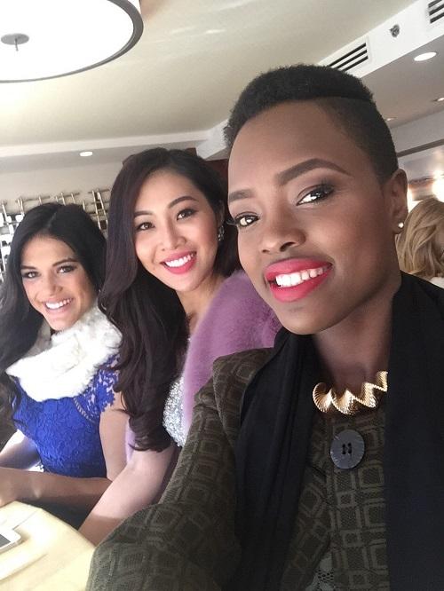 Diệu Ngọc tự tin giao lưu bằng tiếng anh tại Miss World - 2