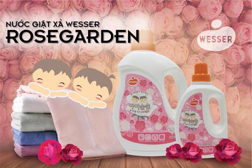 Hương thơm giặt xả mới Rosegarden của Wesser chính thức có mặt trên thị trường - 3