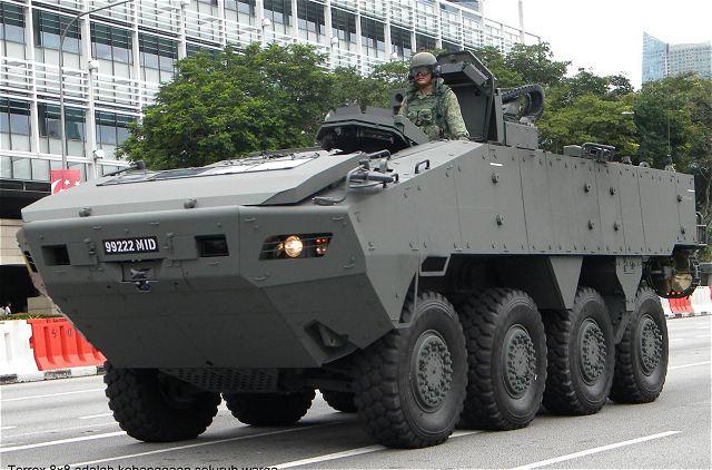 Giữ 9 xe bọc thép Singapore, TQ thu thập bí mật quân sự? - 1
